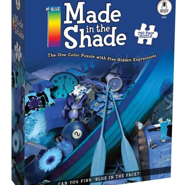 Made in the Shade Blue 750 PC Jigsaw Puzzle