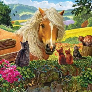 New Neighbours 100 PC Jigsaw Puzzle