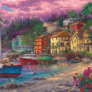 On Golden Shores 2000 PC Jigsaw Puzzle