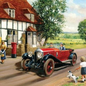 Out in the Country 500 PC Jigsaw Puzzle
