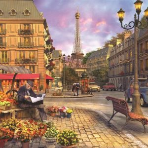 Paris Street Life 1500 PC Jigsaw Puzzle
