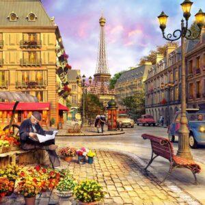 Paris Street Life 1500 Piece Puzzle - Anatolian