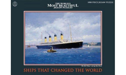 Puzzles Titanic RMS-Titanic-1000-PC-Jigsaw-Puzzle-1