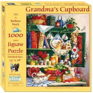 Grandma's Cupboard 1000 Piece Jigsaw Puzzle - Sunsout