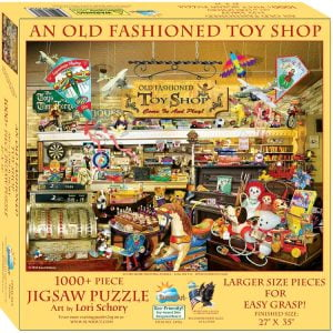 Old Fashioned Toyshop 1000XL Piece Jigsaw Puzzle - Sunsout