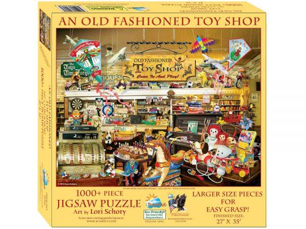 Old Fashioned Toyshop 1000XL Piece Jigsaw Puzzle - Sunsout