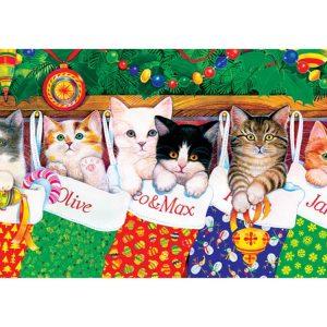 Stocking Kittens 500 PC