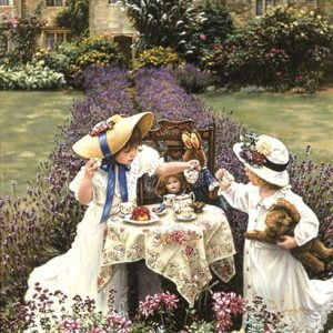 Teatime at Garden 260 PC Jigsaw Puzzle