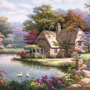 The Swan Cottage 1500 PC Jigsaw Puzzle