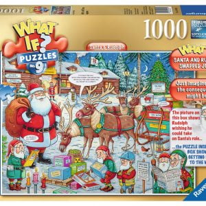 What if No 9 Santa & Rudolph 1000 PC Jigsaw Puzzle