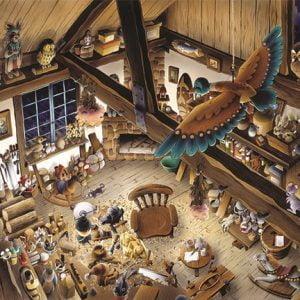 Wooden Workshop 1000 PC Jigsaw Puzzle
