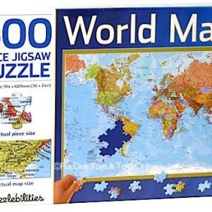 World Map 500 PC Jigsaw Puzzle
