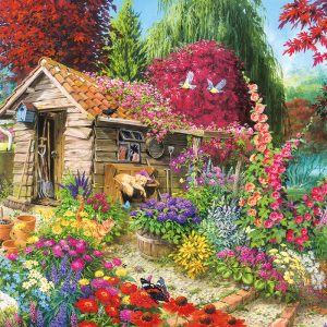 A Dog's Life 500 PC Jigsaw Puzzle
