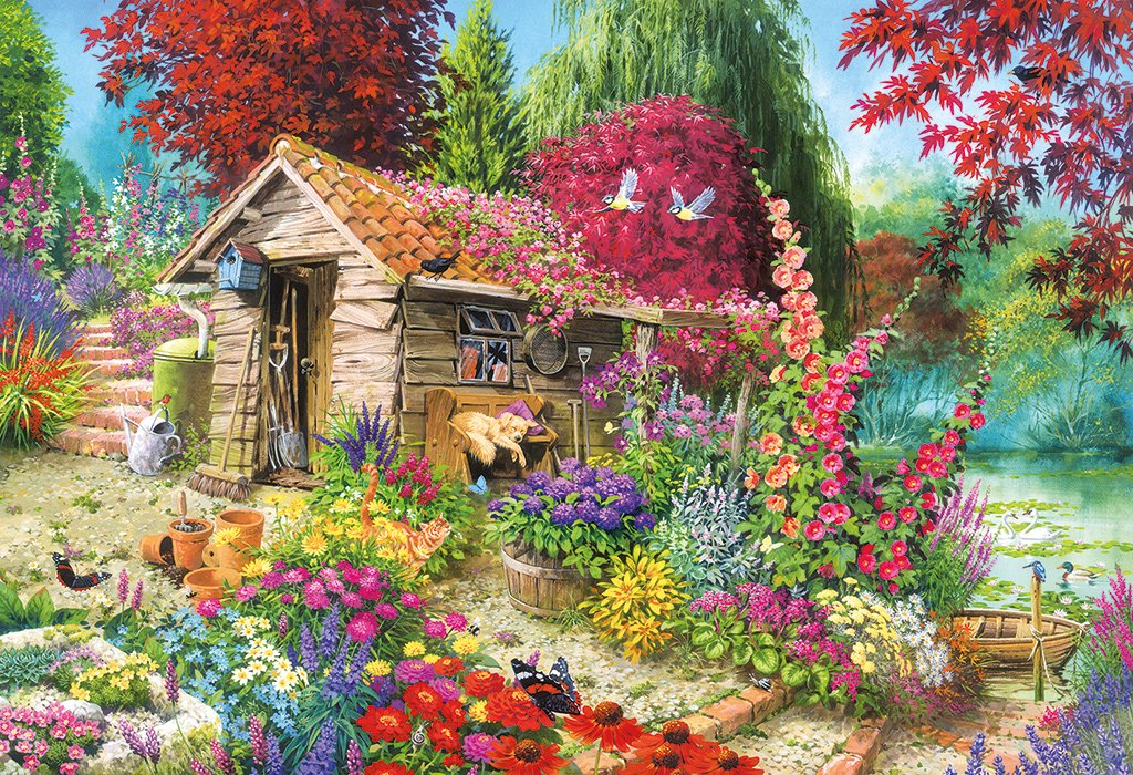 A Dog S Life 500 Pc Jigsaw Puzzle Puzzle Palace Australia