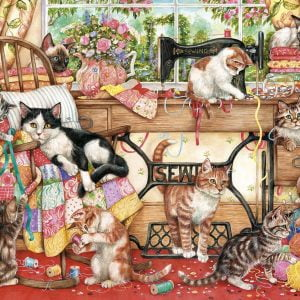 A Lost Stitch 1000 Piece Jigsaw Puzzle - Gibsons