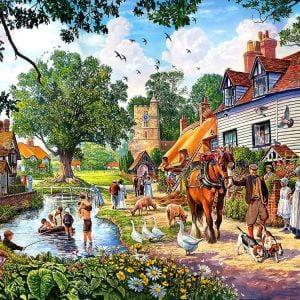 A Village Summer 1000 PC Jigsaw Puzzle