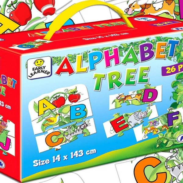 Alphabet Tree Jigsaw Puzzle 26 PC