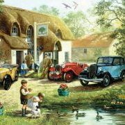 An Olde English Pub 1000 PC LGE SIZE PC JIGSAW PUZZLE