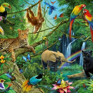 Animals in the Jungle Puzzle