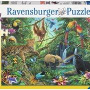 Animals in the Jungle Puzzle