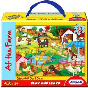 At the Farm Floor Jigsaw Puzzle 24 PC