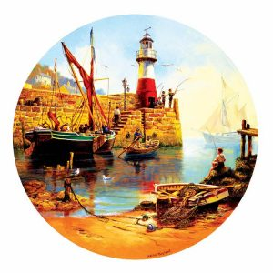 At the Harbor 1000 PC Jigsaw Puzzle