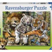 Big Cat Nap 200 PC Jigsaw Puzzle