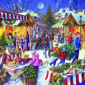 Christmas Fayre 1000 PC Jigsaw Puzzle