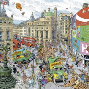 Cities of the World London 1000 PC Jigsaw Puzzle