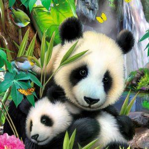 Cuddling Pandas 300 PC Jigsaw Puzzle
