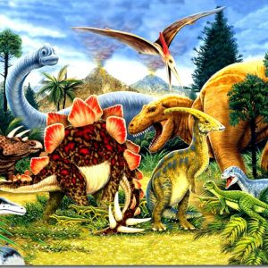 Dinosaur Country 300 PC Jigsaw Puzzle