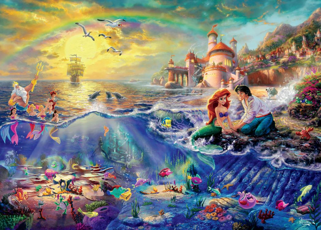 THOMAS KINKADE DISNEY DREAMS 4 X 500 PC MULTI PACK