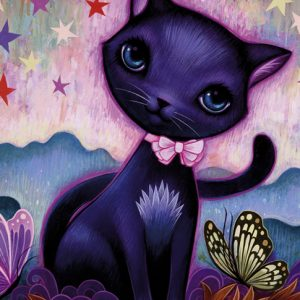 Dreaming Black Itty 1000 PC Jigsaw Puzzle