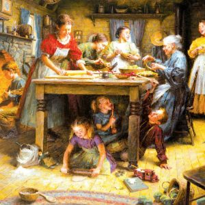 Family Traditions 1000+ PC Jigsaw Puzzle
