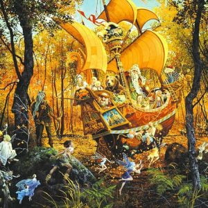 Flight of the Fable Maker 1500 PC Jigsaw Puzzle