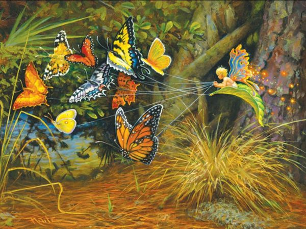 Flight of the Pixie 1000 PC Jigsaw Puzzle