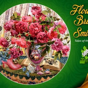 Flowers Bring Smiles Tales of the Rose 500 PC Jigsaw Puzzle