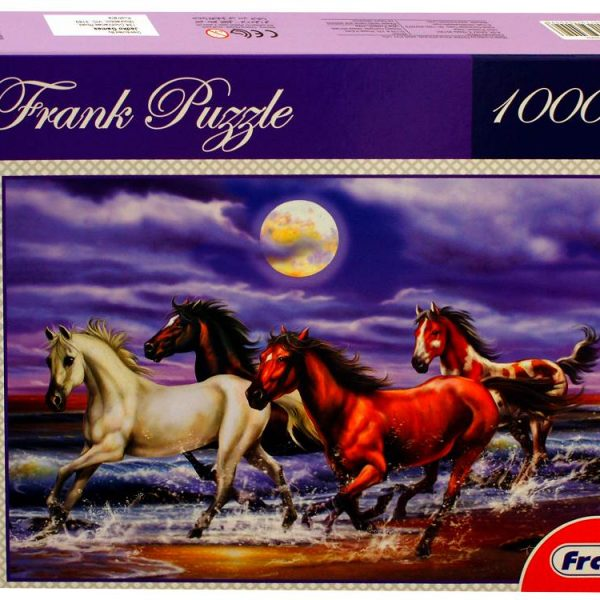 Galloping Horses 1000 PC Jigsaw Puzzle