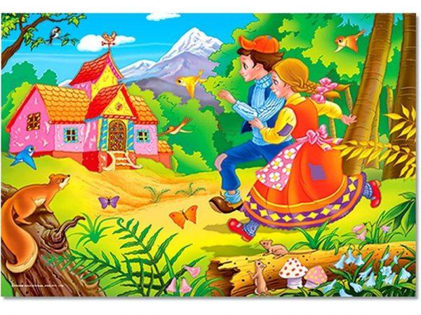 Hansel & Gretel 24 PC Jigsaw Puzzle