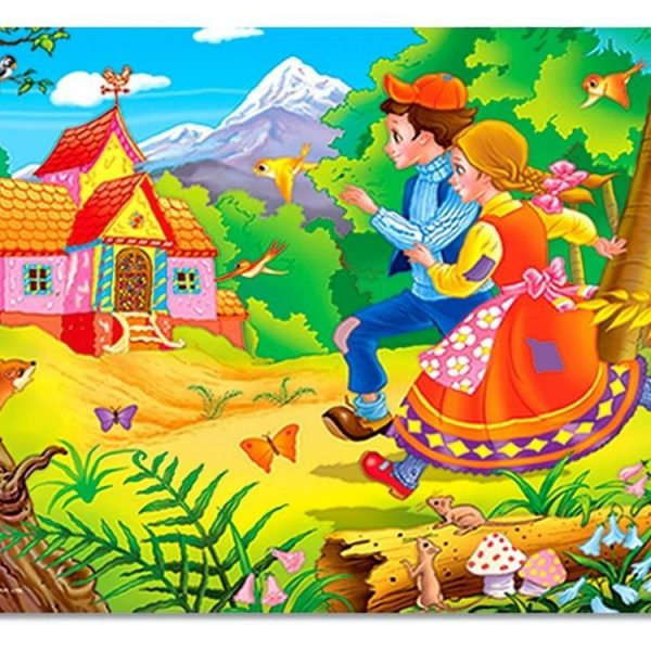 Hansel & Gretel 24 PC Jigsaw Puzzle