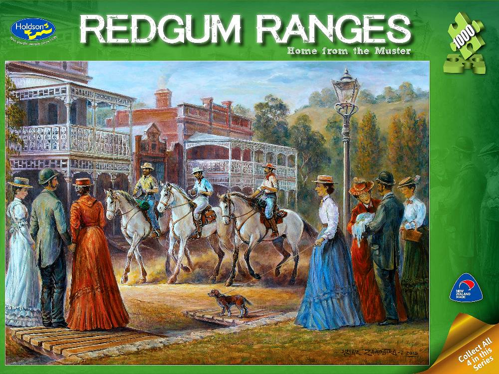 home from the muster 1000 pc jigsaw puzzle - Puzzle Muster