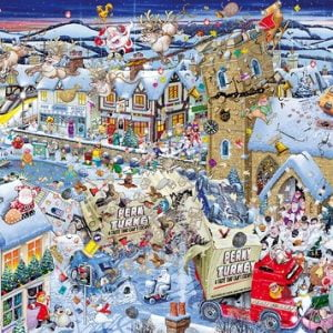 I Love Christmas 1000 PC Jigsaw Puzzle