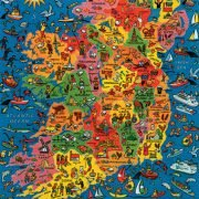Ireland Map 500 PC Jigsaw Puzzle