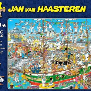 JVH Tall ship Chaos 1000 PC Jigsaw Puzzle
