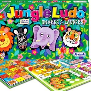 Jungle Ludo Snakes & Ladders Board Game