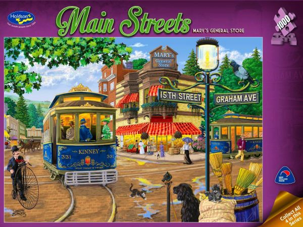 Mary's General Store 1000 PC Jigsaw Puzzle