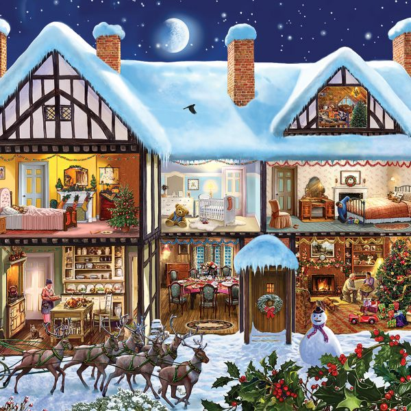 midnight delivery 1000 piece jigsaw puzzle by gibsons. Black Bedroom Furniture Sets. Home Design Ideas