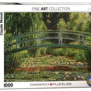 Monet, Japanese Footbridge 1000 PC Jigsaw Puzzle