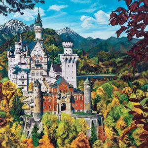 Neuschwanstein Castle 2000 PC Jigsaw Puzzle