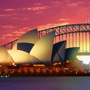 Opera House Harbour Bridge 1000 PC Jigsaw Puzzle